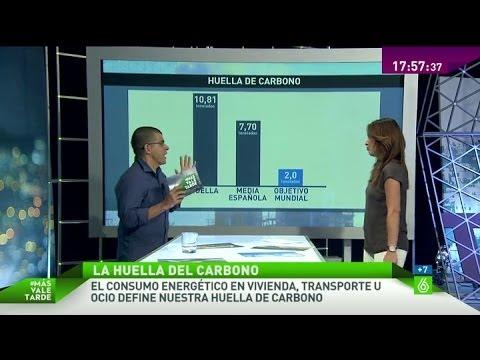 La huella de carbono media en España es muy superior al objetivo mundial propuesto