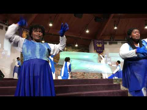 Loving Word Fellowship Praise dancers The Lord's Song