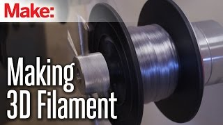 How It Is Made: 3D Printing Filament