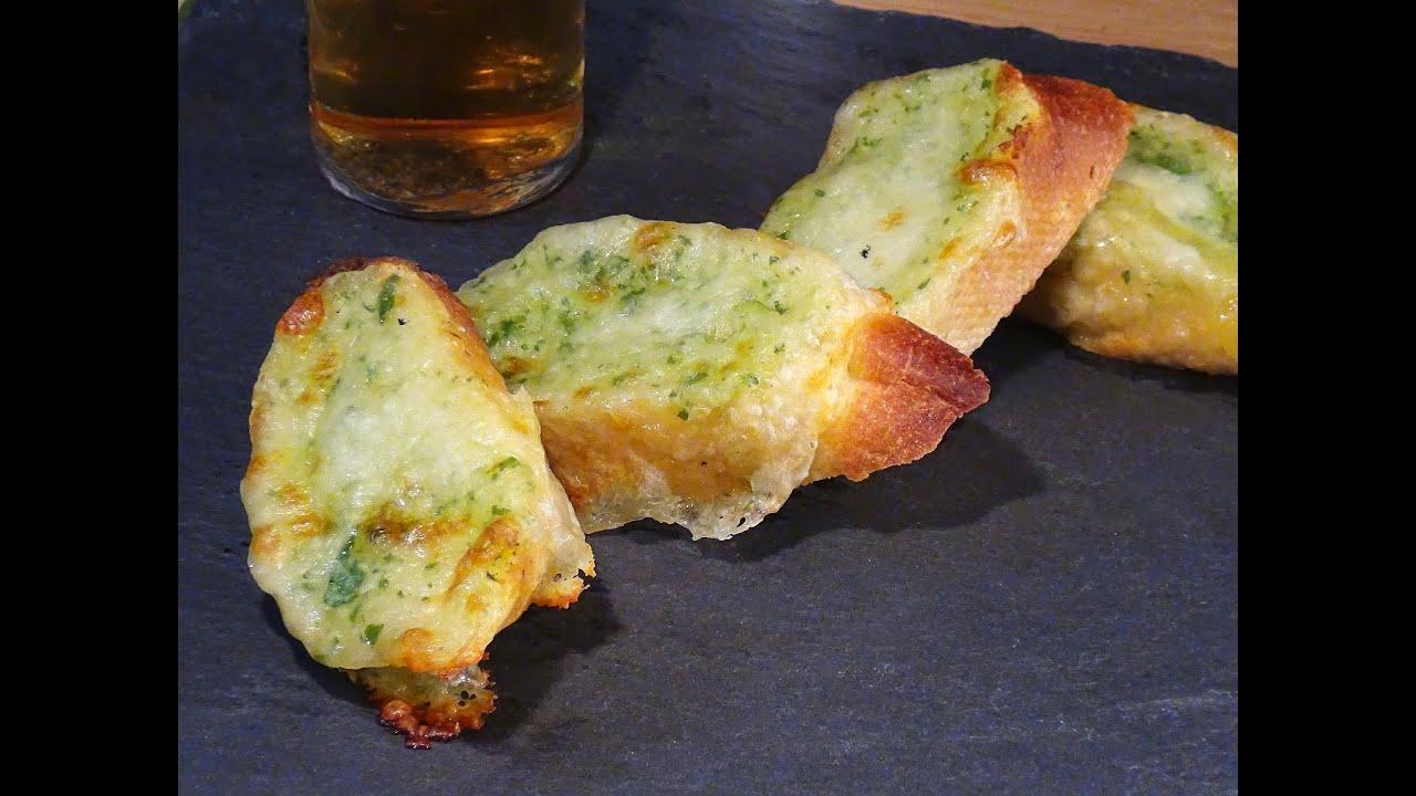 Receta Pan De Ajo Con Mozzarella Fresca Recetas De Cocina Paso A Paso Tutorial