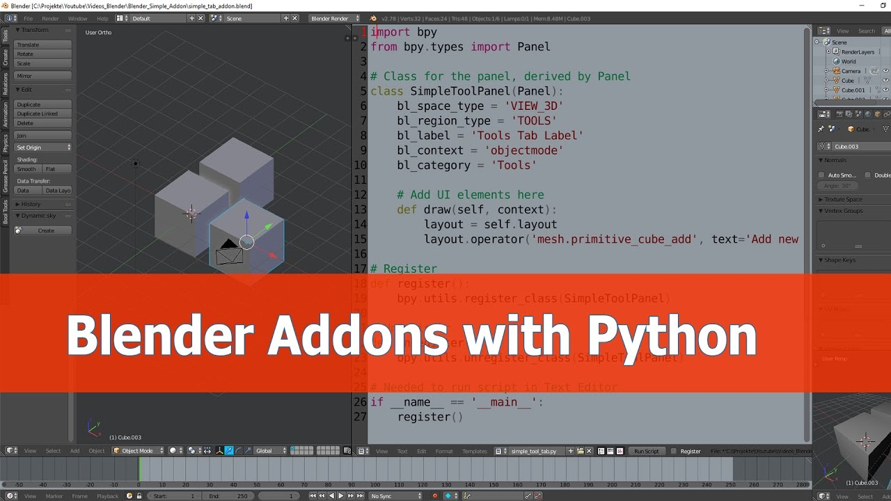 how to make a 3d game in python