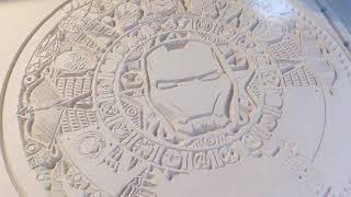 CSCC Crafting A Marvel Aztec Calendar