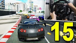 NISSAN GTR BLACK EDITION WITH WHEELCAM - Forza 7 Career Mode (Part 15)