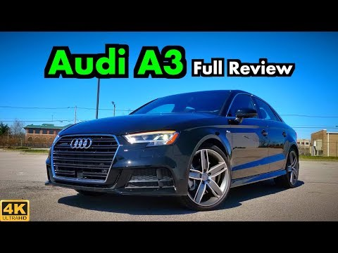 2019 Audi A3 Sedan: FULL REVIEW + DRIVE   Who You Calling Entry Level??