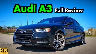 2019 Audi A3 Sedan: FULL REVIEW + DRIVE | Who You Calling Entry Level??