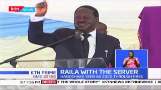 Raila With The Server: Oburu Odinga says now they have the system and it is sure bet to statehouse