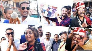 ബിഗ് ബോസ്സ് താരങ്ങൾക്ക്  എയർപോർട്ടിൽ വമ്പൻ വരവേൽപ്പ് | Bigg Boss Contestants At Cochin Airport
