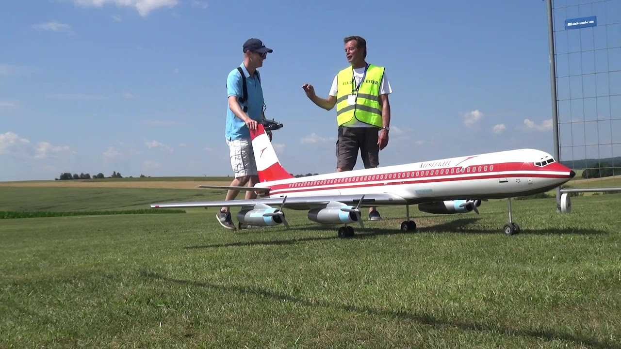 RC AIRLINER CARAVELLE AUSTRIA AIRLINES SUD AVIATION