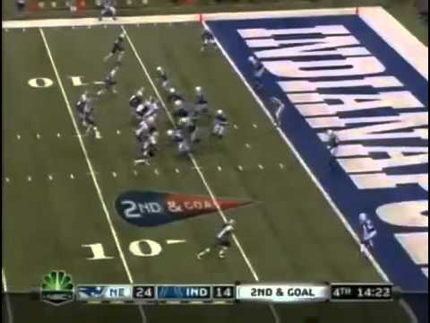 colts vs patriots 2009