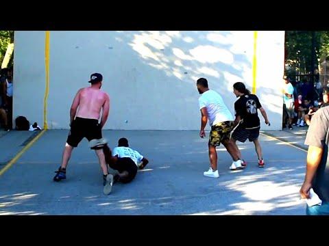Open Doubles..  Timbo & Ralph vs Tywan & MegaMan💪