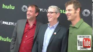 Trey Parker, Doug Herzog and Matt Stone at The Paley Center For Media Presents Special Retrospective