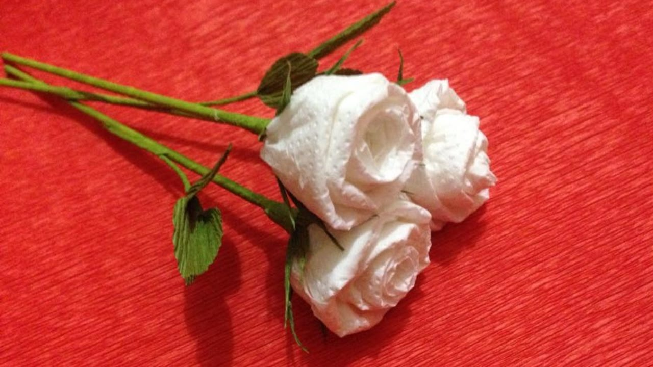 How To Make Toilet Paper Roses Looking For A Budget Party