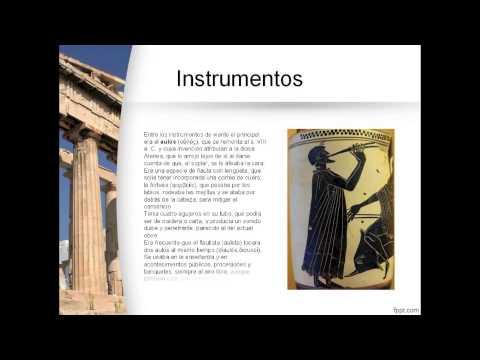 La Música en la Edad Antigua. CEIP ARias Montano.