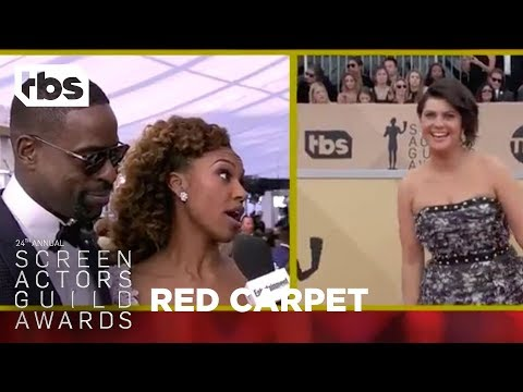 Sterling K. Brown: Red Carpet Interview | 24th Annual SAG Awards | TBS