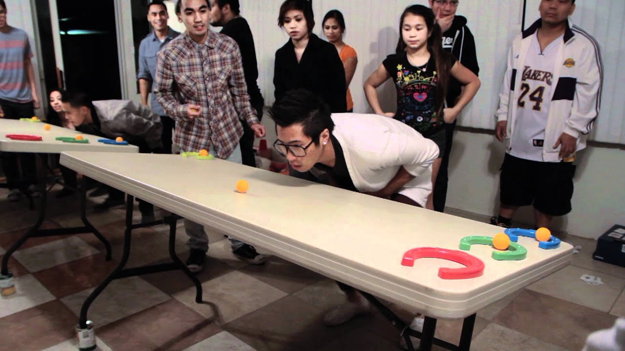 Minute To Win It Horseplay 4 Vs 4 YouTube