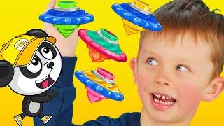 Мультики Про Биби и Яна - Рисуем и Играем - Видео Для Детей