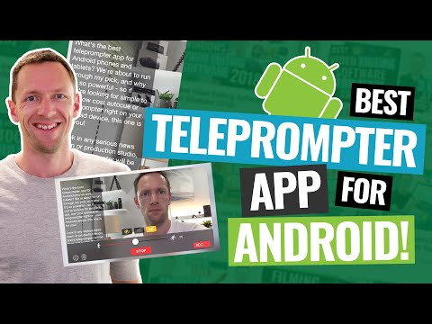 Best Teleprompter App For Android (Updated!)