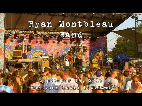 Ryan Montbleau Band: 2017-09-16 - Wormtown Music Festival; Greenfield, MA [4K]