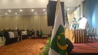 Menyanyikan MARS Partai Bulan Bintang (Sumatera Utara)