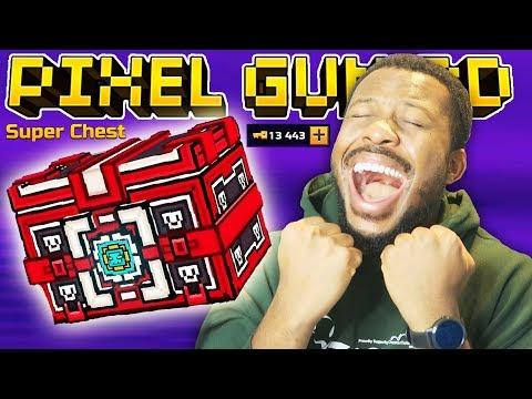 I SPENT 10,000 KEYS AND UNLOCKED.. L Pixel Gun 3D