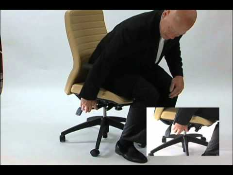 Adjusting The Seat Height Of Your Chair