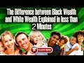 Black Wealth & White Wealth Explained in Less than 2 minutes (Animated Video)