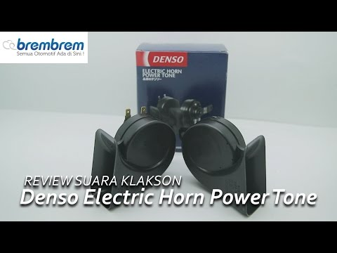 Review Suara Klakson DENSO Electric Horn Power Tone | Brembrem