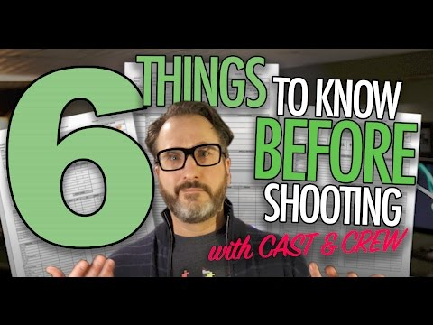 How to SHOOT VIDEO: 6 Things To Know...