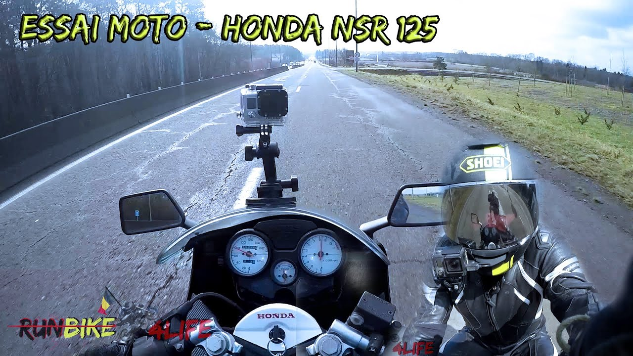essai moto honda nsr 125 rb4l youtube. Black Bedroom Furniture Sets. Home Design Ideas