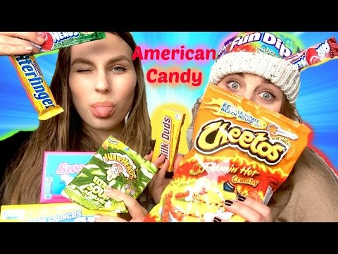 New Zealanders Trying American Candy