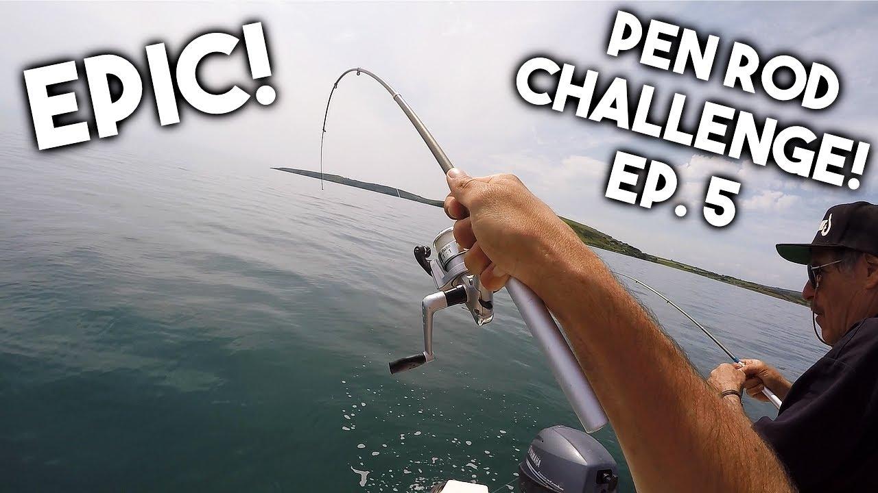 MICRO PEN ROD FISHING CHALLENGE - Ep. 5 - He abandoned me ...