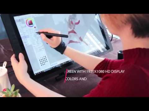 XP-Pen Artist22E 22-Inch Display IPS Monitor Drawing pen Tablet Dual Monitor with Shortcut keys