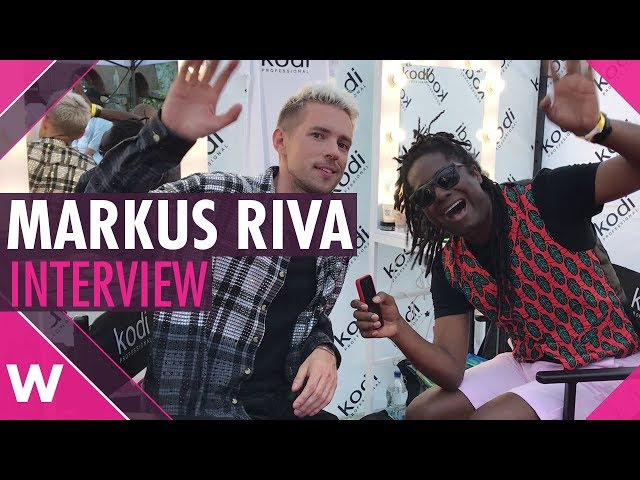 Markus Riva (Supernova 2018 finalist) Interview @ Kyiv Big Wedding Concert