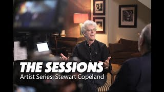 STEWART COPELAND - Drummer (The Police) for The Sessions Artist Series