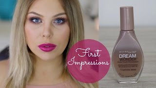Maybelline Dream Wonder Fluid Touch Foundation First Impressions