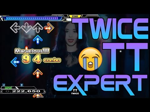LET'S PLAY DDR! TWICE - TT (Autoplay Expert/Difficult)