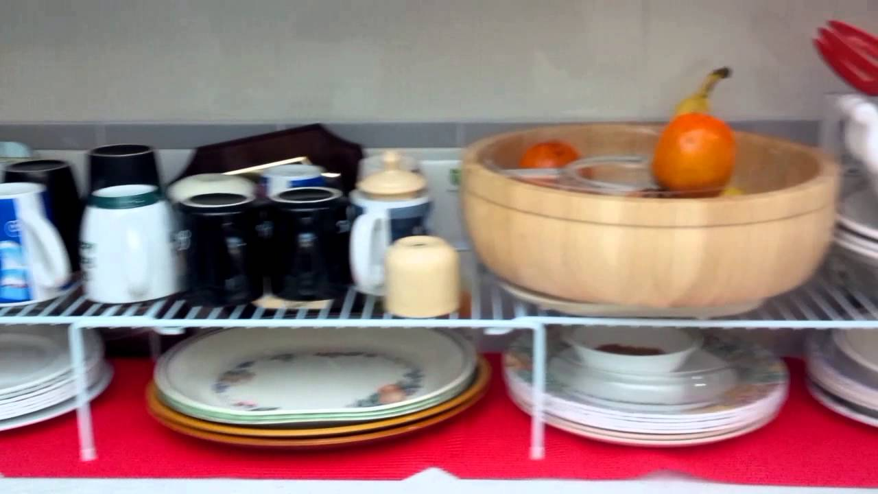 space saving ideas for your kitchen counter and cupboards youtube space saving ideas for your kitchen counter and cupboards