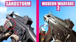 Call of Duty Modern Warfare 3 vs Insurgency Sandstorm Weapons Comparison