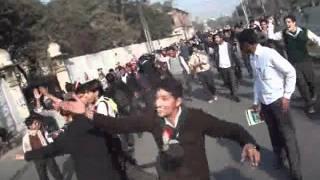 Govt. Mao college Strike on Poor result of BS hons Programme