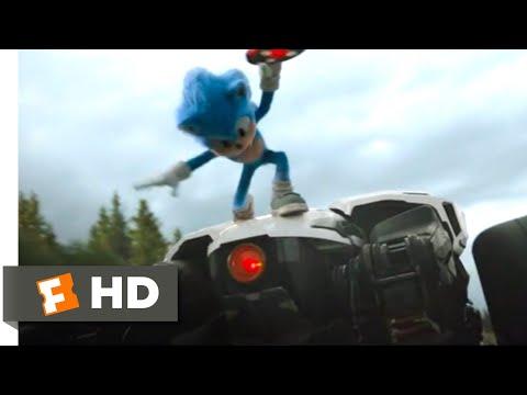Sonic the Hedgehog (2020) - Sonic vs. Robotnik Scene (5/10)   Movieclips