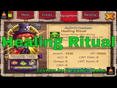 Castle Clash Healing Ritual Pumpkin Duke Reviews The New Enchantment