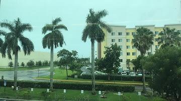 Live look at Miami as Hurricane Irma nears South Florida.