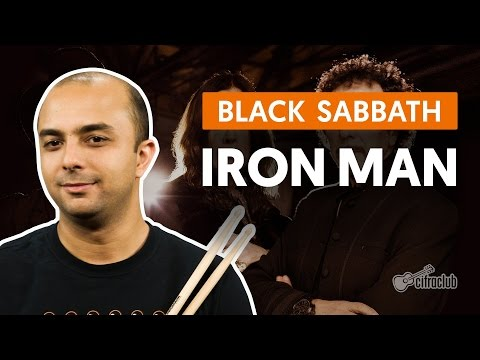 Iron Man - Black Sabbath (aula de bateria)