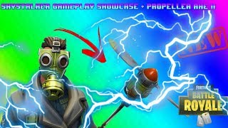Fortnite Battle Royale - France SkyStalker - ProPeller Axe Gameplay Showcase !! SKINS DE NEW!!