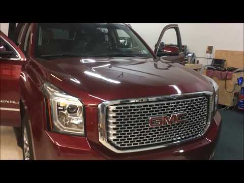 2016 GMC Yukon Denali and Chevy Tahoe 360 Camera Installation with Smartphone Navigation