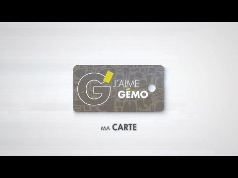 valider carte j aime gemo Ma carte de fidélité GÉMO !   YouTube