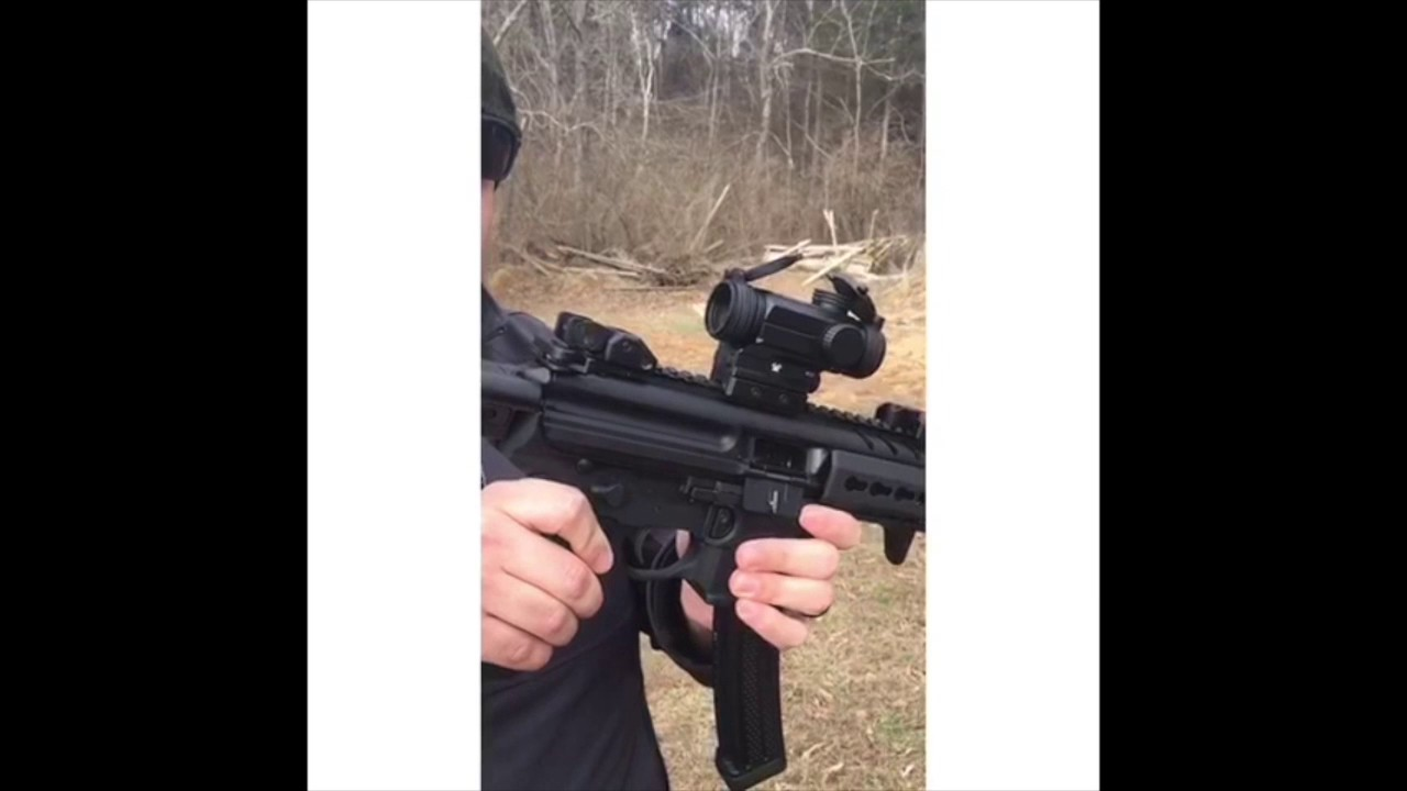 gilbertsguns com sig mpx 9mm sbr with suppressor youtube
