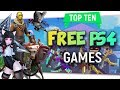 "Top Ten ""Free To Play PS4"" Games By Skylent 2018"