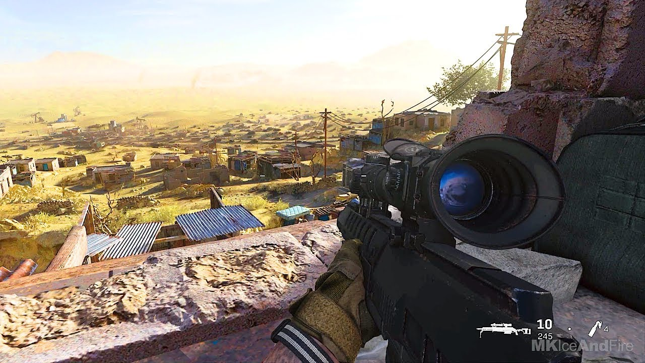 Epic Sniper Mission Call Of Duty Modern Warfare 2019 Gameplay
