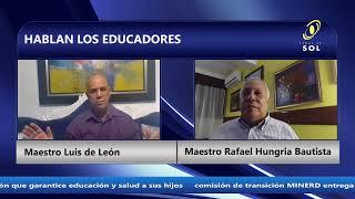 HABLAN LOS EDUCADORES 7 DE AGOSTO 2020